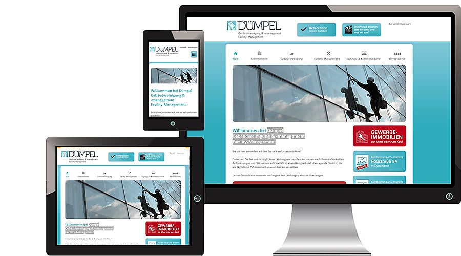 Website Design und Konzeption